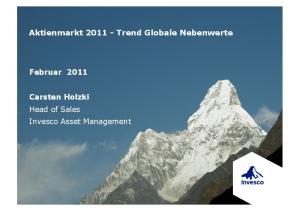 Aktienmarkt Trend Globale Nebenwerte
