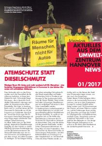 AKTUELLES AUS DEM UMWELT ZENTRUM HANNOVER NEWS ATEMSCHUTZ STATT DIESELSCHMUTZ