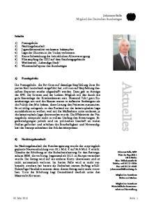 Aktuelles. Johannes Selle Mitglied des Deutschen Bundestages. Inhalte