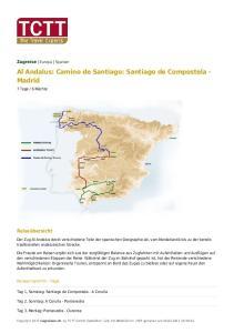 Al Andalus: Camino de Santiago: Santiago de Compostela - Madrid