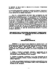 AL MARGEN UN SELLO CON EL ESCUDO DE LA CIUDAD.- PRESIDENCIA MUNICIPAL.- LEON GTO