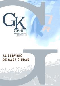 AL SERVICIO DE CADA CIUDAD