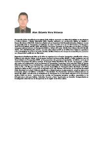 Alan Octavio Vera Velasco