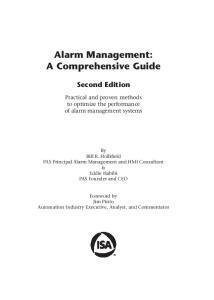 Alarm Management: A Comprehensive Guide