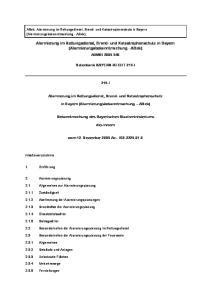 Alarmierung im Rettungsdienst, Brand- und Katastrophenschutz in Bayern