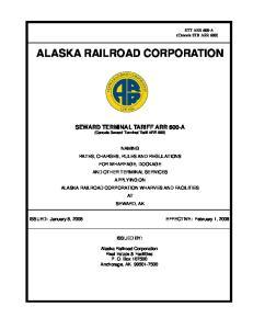 ALASKA RAILROAD CORPORATION