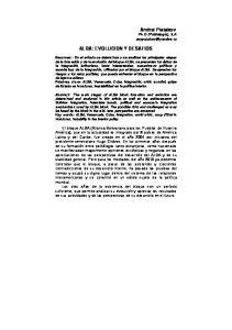 ALBA: EVOLUCION Y DESAFIOS