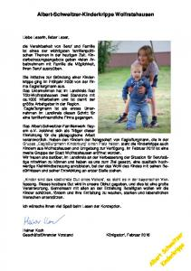 Albert-Schweitzer-Kinderkrippe Wolfratshausen