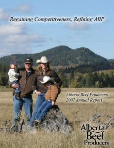 Alberta Beef Producers Board of Directors