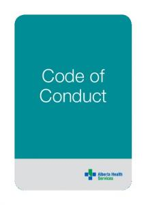 Alberta Health Services Code of Conduct