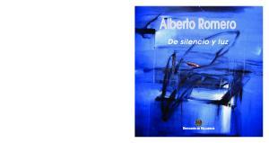 Alberto Romero. De silencio y luz