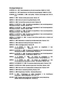 ALBERTSE, G.J.J., Enkele kosteaspekte van die oplei van wyndruiwe. NAMA, No. 2,