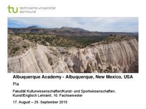 Albuquerque Academy - Albuquerque, New Mexico, USA