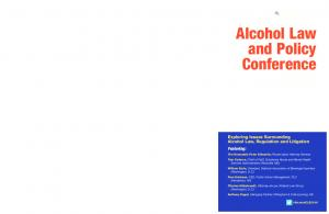 Alcohol Law and Policy Conference