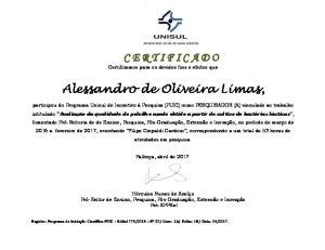 Alessandro de Oliveira Limas,