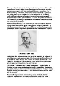 Alfred Adler ( )