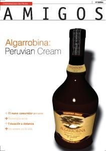 Algarrobina: Peruvian Cream