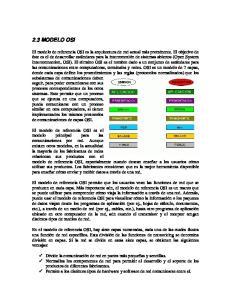ALGUNAS DE LAS FUNCIONES DE CADA CAPA