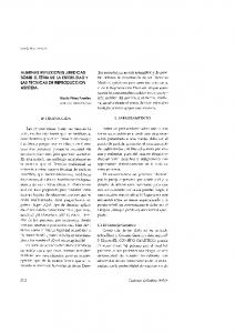ALGUNAS REFLEXIONES JURIDICAS SOBRE EL TEMA DE LA ESTERILIDAD y LAS TECNICAS DE REPRODUCCION ASISTIDA