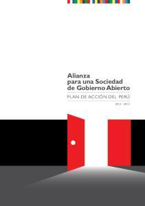 Alianza para una Sociedad de Gobierno Abierto