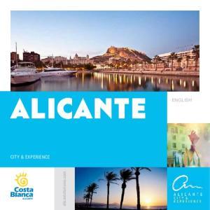 alicante ENGLISH CITY & EXPERIENCE alicanteturismo.com