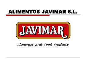 ALIMENTOS JAVIMAR S.L. Alimentos and Food Products