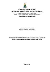 ALINE TOMAZ DE CARVALHO