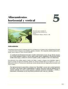 Alineamientos horizontal y vertical
