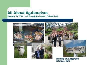 All About Agritourism