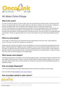 All About Colon Polyps