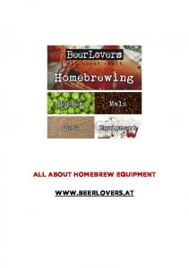 All about homebrew equipment