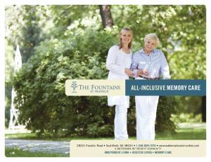ALL-INCLUSIVE MEMORY CARE