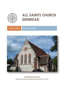 ALL SAINTS CHURCH DENMEAD