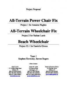 All-Terrain Power Chair Fix. All-Terrain Wheelchair Fix. Beach Wheelchair