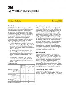 All Weather Thermoplastic