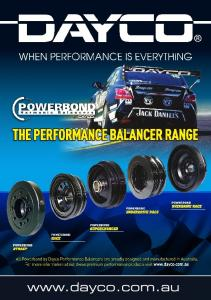 All Your Performance Needs Covered