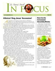 Alleluia! Sing Jesus Ascension!