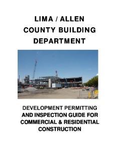 ALLEN COUNTY BUILDING DEPARTMENT