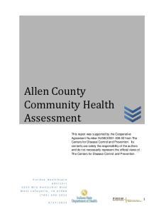 Allen County Community Health Assessment
