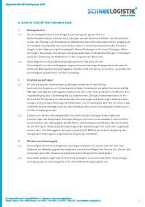 Allgemeine Geschäftsbedingungen (AGB) *