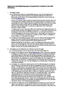 Allgemeine Geschäftsbedingungen und gesetzliche Hinweise für den NKD- Onlineshop