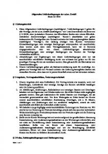 Allgemeine Lieferbedingungen der a.i.m. GmbH Stand Juli 2016
