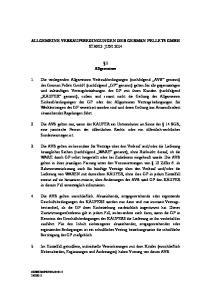 ALLGEMEINE VERKAUFSBEDINGUNGEN DER GERMAN PELLETS GMBH STAND: JUNI Allgemeines