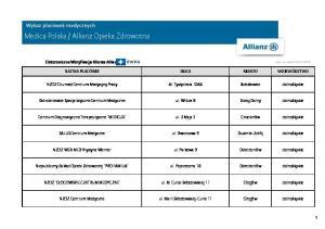 Allianz Opieka Zdrowotna
