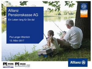 Allianz Pensionskasse AG