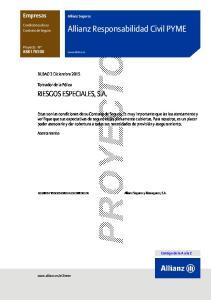 Allianz Responsabilidad Civil PYME