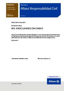 Allianz Responsabilidad Civil