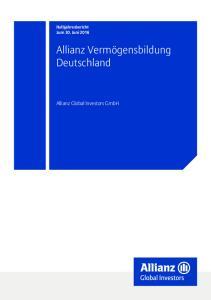 Allianz Vermögensbildung Deutschland