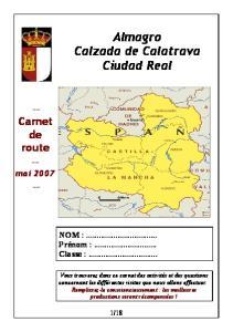 Almagro Calzada de Calatrava Ciudad Real