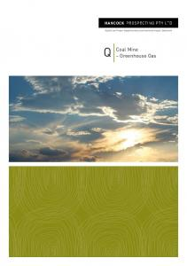 Alpha Coal Project Supplementary Environmental Impact Statement. Coal Mine Greenhouse Gas